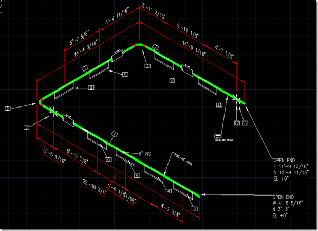 Turning Off Pipesupportspec Break In Autocad