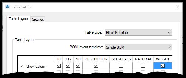 Add Data to BOM