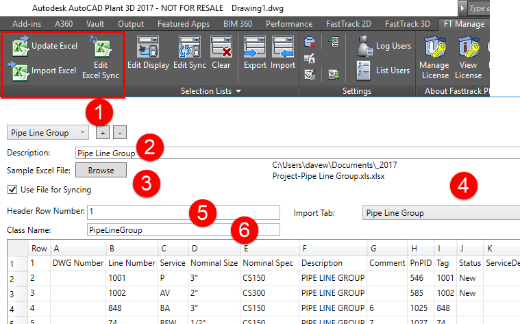 Using Fasttrack Plant for Standardizing DataProcess Design